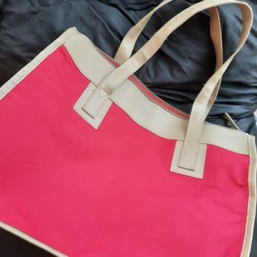 ROTE Einkaufstasche mit Reißverschluss