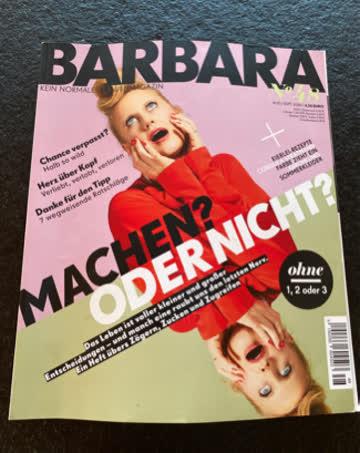 Zeitschrift BARBARA Nr. 48, Aug/Sept 2020