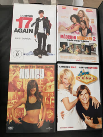 4 DVD Bundle