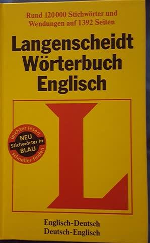 Langenscheidt Wörterbuch Englisch