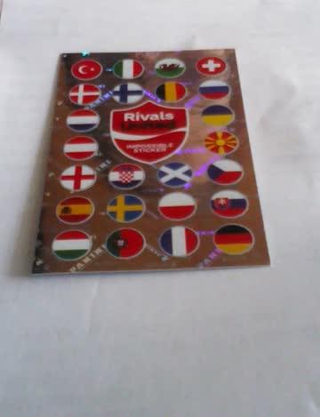 Impossible Sticker Uefa Euro 2020 Coca Cola