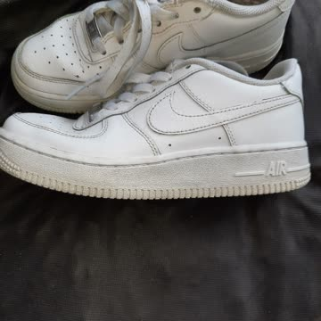 Weisse Nike schuhe