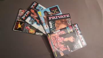 5 Verschiedene XXX Magazine