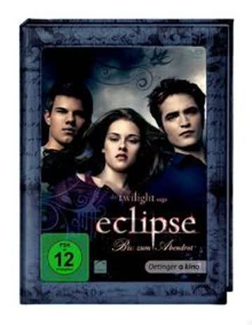 Twilight 3 - Eclipse - Biss zum Abendrot (Book Edition)