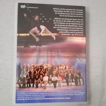 Dvd Art on Ice 2007