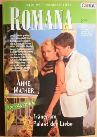Romana Tränen im Palast der Liebe von Anne Mather