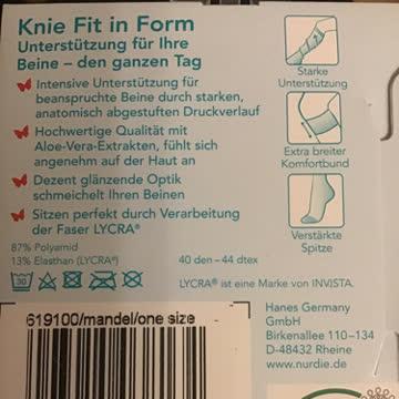 Knie Stützstrümpfe