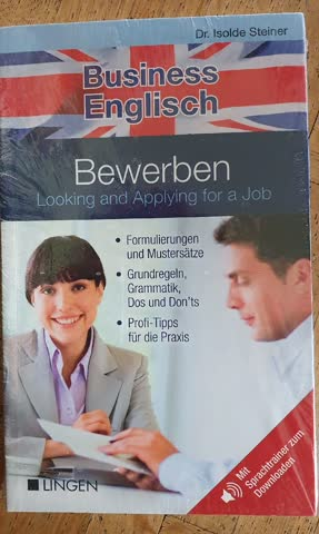 Bewerben Looking and Applying for a a Job