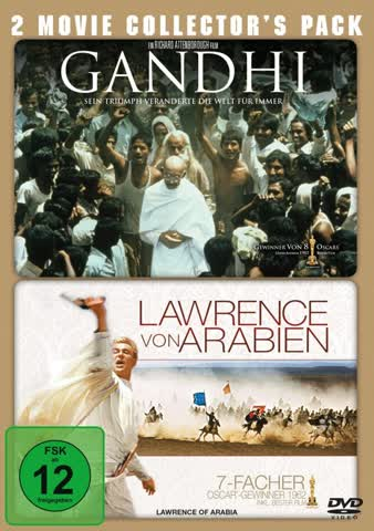 Gandhi / Lawrence von Arabien