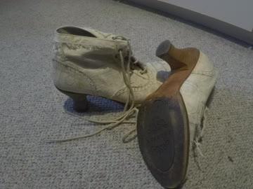 weisse hohe Schuhe grösse, 40