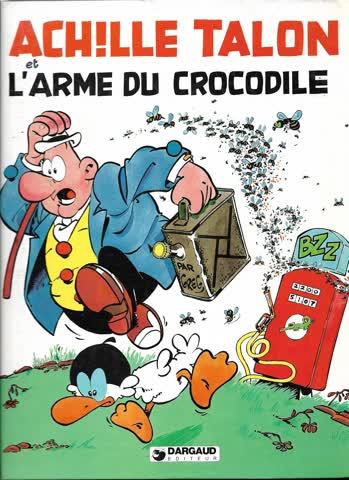 Comic  L'arme du crocodile