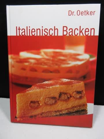 Dr. Oetker Italienisch Backen