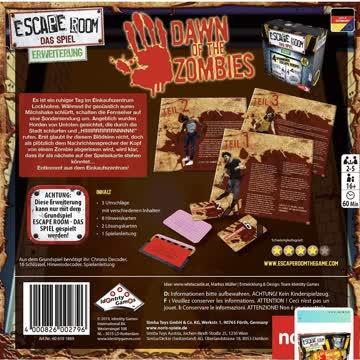 Escape Room Erweiterung: Dawn of Zombies