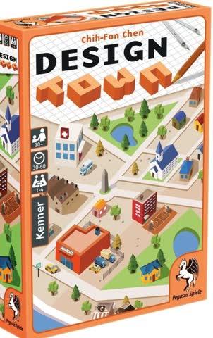 Kartenspiel Design Town