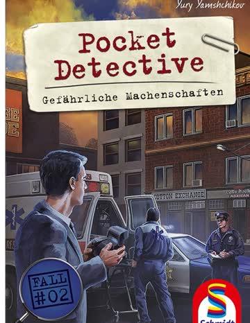 Detektivspiel Pocket Detective - Gefährliche Machenschaften
