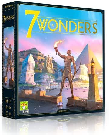 Brettspiel 7 Wonders