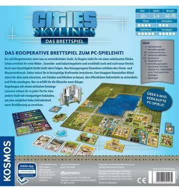 Brettspiel Cities Skylines (deutsch)