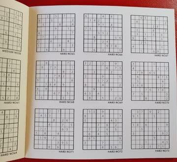 Sudokutafel