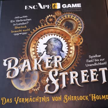 Baker Street Rätselspiel