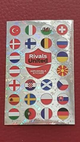 Impossible Sticker Euro 2021 Panini Pearl
