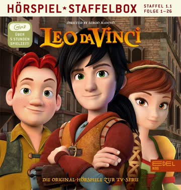 Leo da Vinci - mp3-Staffelbox 1.1 - Das Original-Hörspiel zur TV-Serie (Folgen 1 - 26)