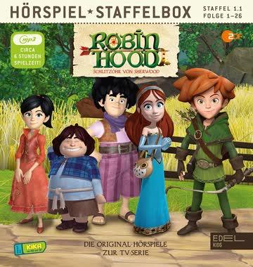 Robin Hood - Schlitzohr von Sherwood - Staffelbox 1.1 Folge 1 - 26