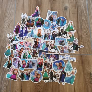 Eiskönigin Frozen Elsa Anna Sticker Aufkleber ca 50 Stück