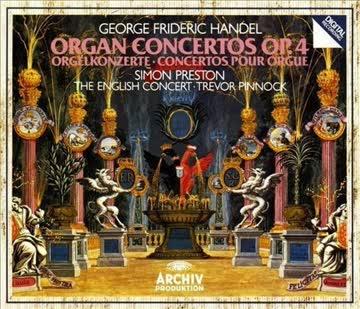 George Frideric Handel - Organ Concertos Op. 4 Orgelkonzerte