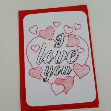 Karte J Love You