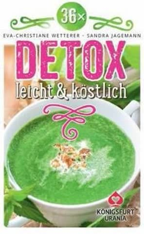 36 x Detox - leicht & köstlich, Rezeptkarten