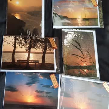 Sonnenuntergang- Karten