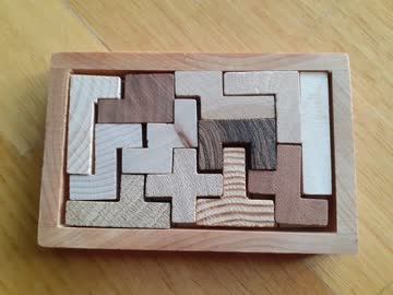 Holz Puzzle