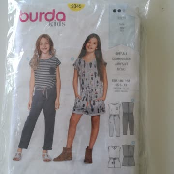 Burda Kids Schnittmuster