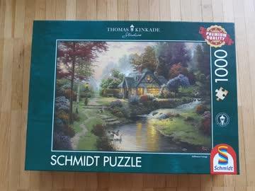 Wunderschönes Thomas Kinkade Puzzle