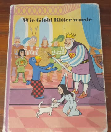 Älteres Globi Buch
