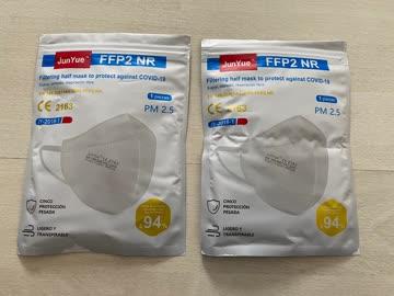 FFP2 Masken 2 Stk. zusammen Neu und Original-verpackt