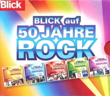 Diverse - BLICK auf 50 Jahre Rock (5CD Box)