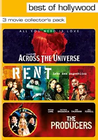 Across the Universe / Rent / The Producers - Best of Hollywood 28 (3 Movie Collector's Pack)