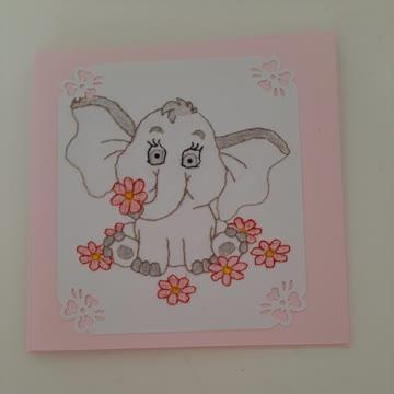 Karte Elefant