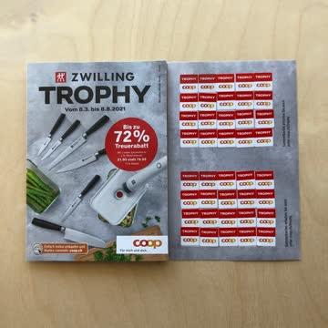 17 VOLLE TROOPHY-KARTEN