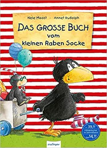 Der kleine Rabe Socke: Das große Buch vom kleinen Raben Socke