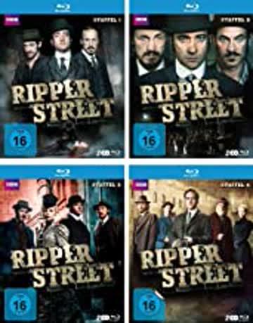 Ripper Street Staffel 1-4