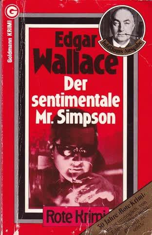 Edgar Wallace: Der sentimentale Mr. Simpson