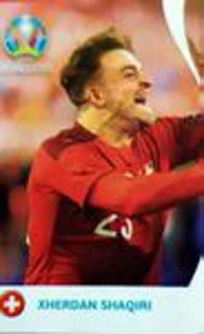 Coca Cola Panini Euro 2020 Xherdan Shaqiri C3