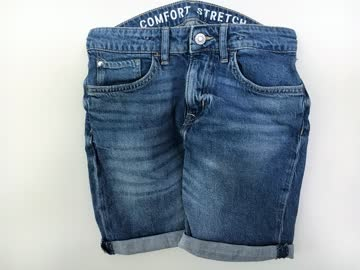 Jeans Denim Shorts von H&M Gr. 140