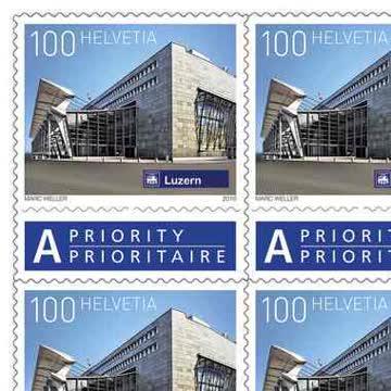 10 x Briefmarken à CHF 1.00 selbstklebend