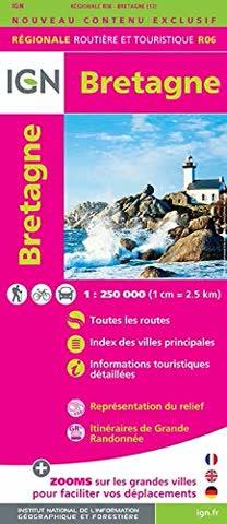 IGN Landkarte Bretagne 2015