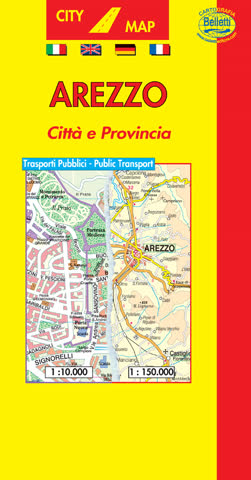 City Map AREZZO PIANTA CITTÀ E PROVINCIA