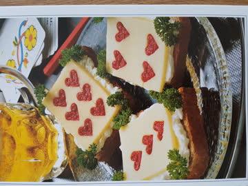 Das Sandwich die vollwertige Mahlzeit