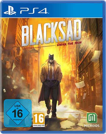 Blacksad: Under the skin - PS4 (Limited-Edition)